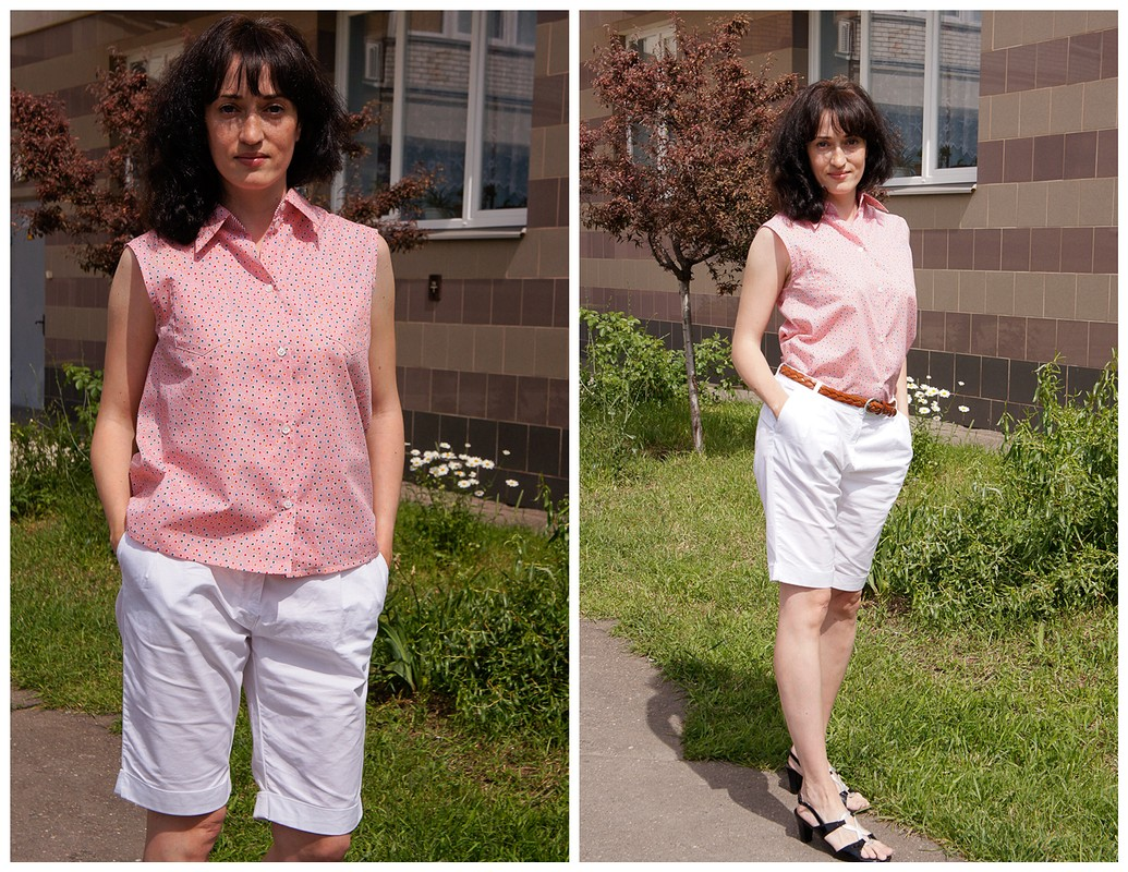 Первая блузка