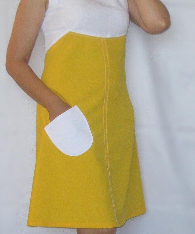 Платье встиле 70-х