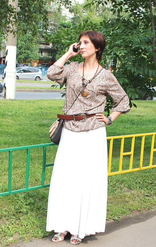 самая простая блуза