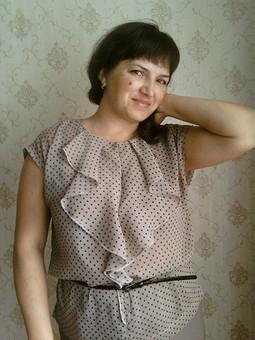 Работа с названием Моя блузка