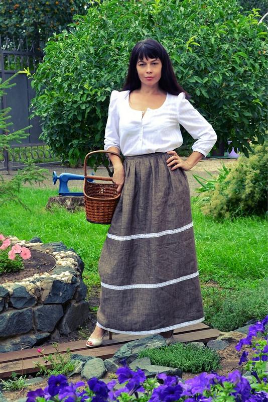 Девушка -крестьянка) от Lenakurgan