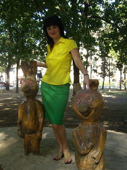Работа с названием Зелёненькая юбочка