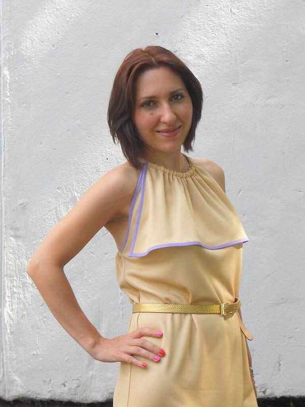 Платье 113B, Burda 06/2011
