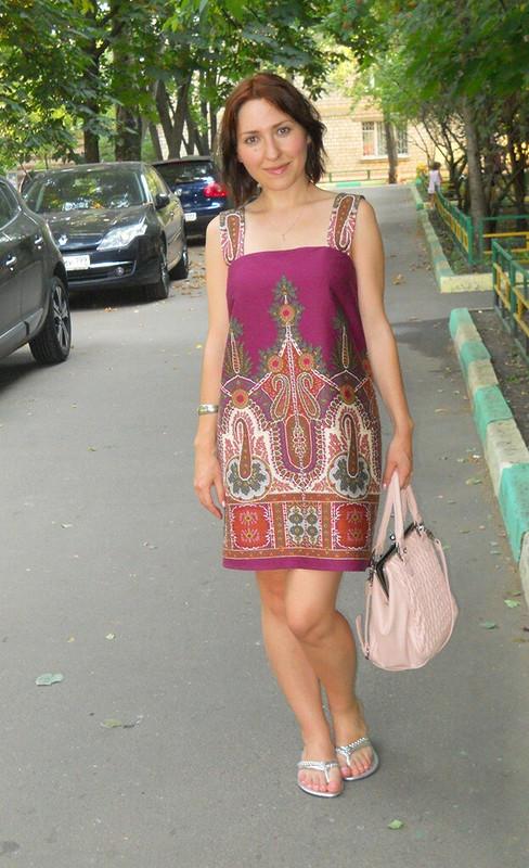 Платье наоснове топа 131, 06/2012