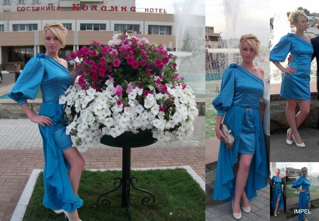 Выпускное платье от allegro