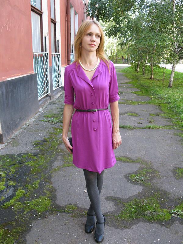 Платье Бурда 9/2012 № 114