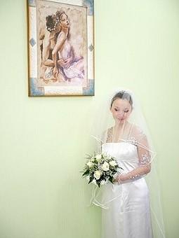 Работа с названием свадебное платье