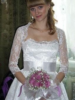 Работа с названием Белое платье, белая фата.....