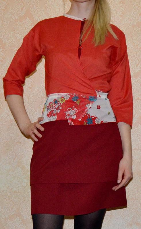 Жакет-блуза