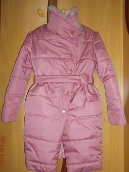 Работа с названием пальто для девочки