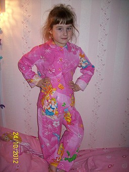 Работа с названием пижамка Winx