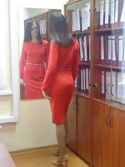 Работа с названием Долгожданное красное)