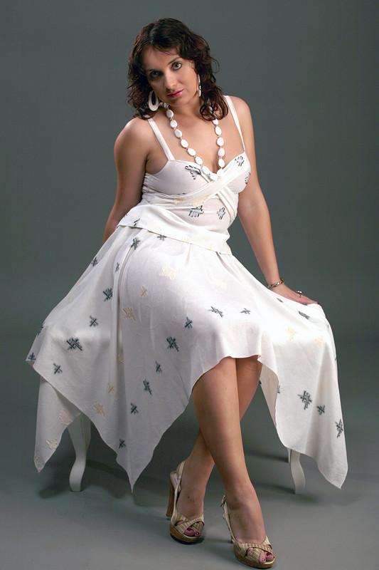 Белая нега - юбка