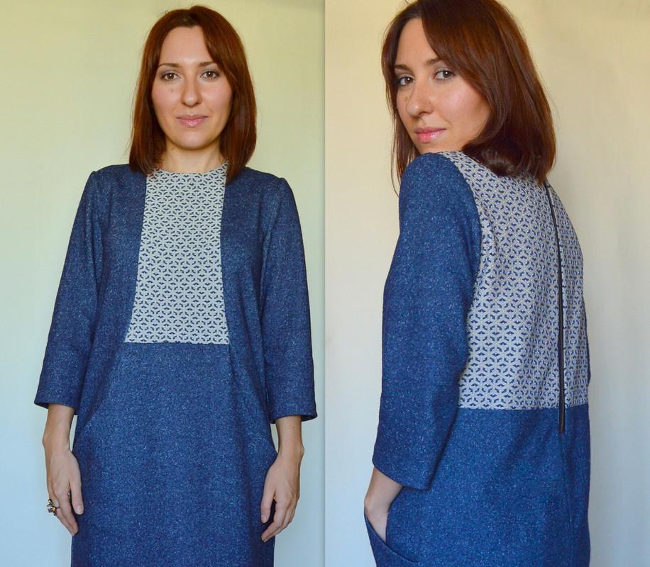 Платье 130, Burda 07/2011