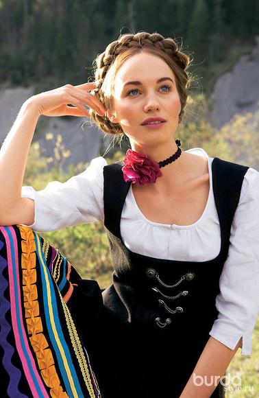 Баварский итирольский национальные костюмы