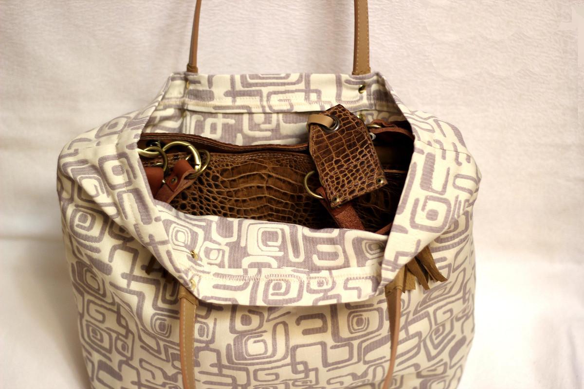 Комплект изитальянской кожи  сумка + аксессуары «Амазонка»