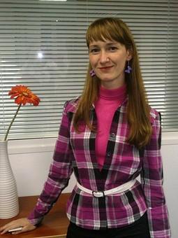 Работа с названием Рубашка в розовую клетку