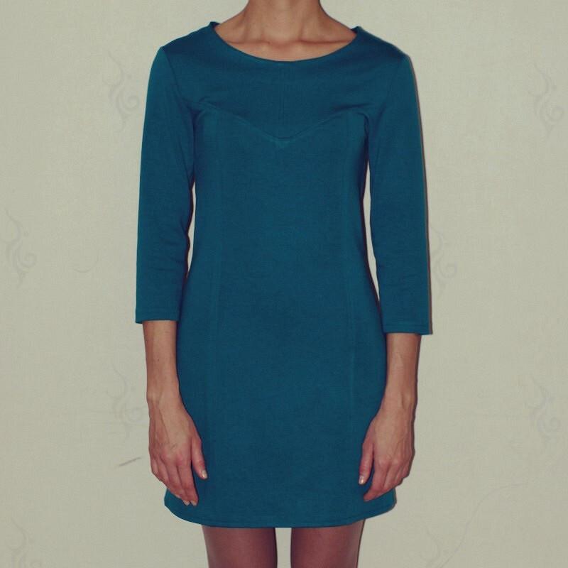 Платье изджерси от vorobeva_tatiana