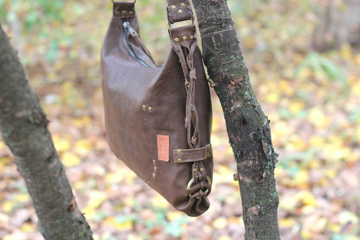 Кожаная сумка «Моя любовь»