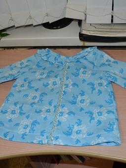 Работа с названием Детская блузка