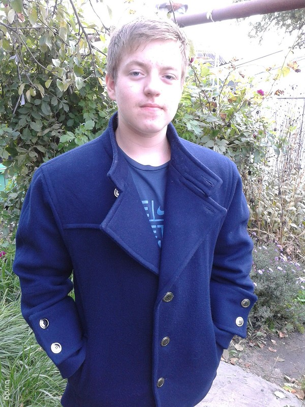 Пальто длясына.