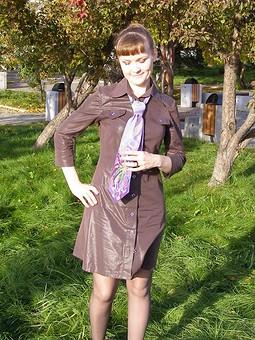Работа с названием Платье для галстука