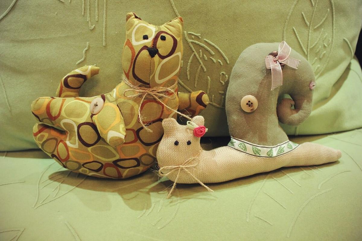 Милые игрушки от Nina-Cherry