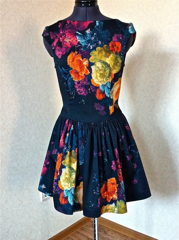 Платье вцветах от tkachukelena