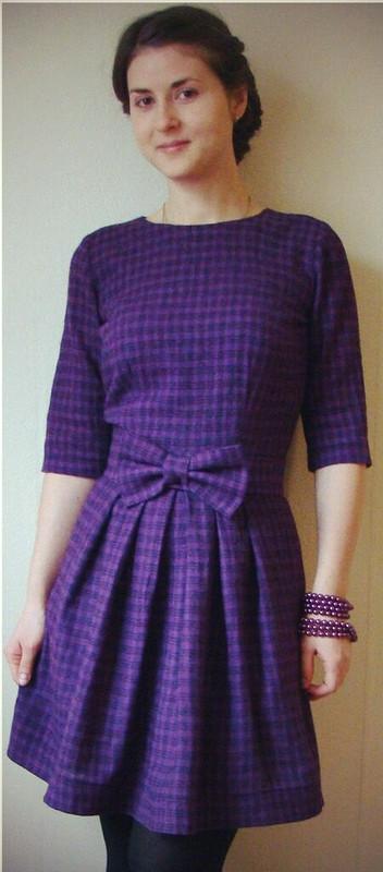 Платье вклетку от Milenysh