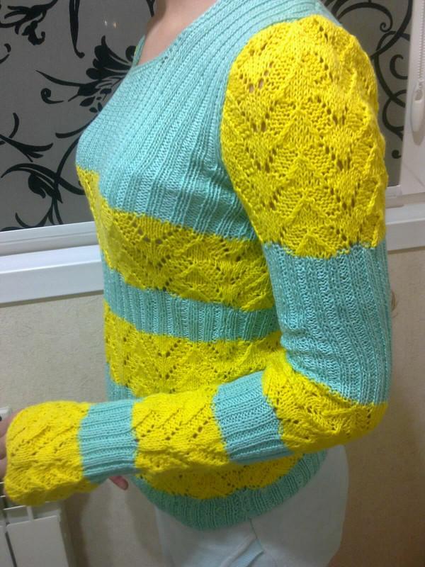 летний пуловер
