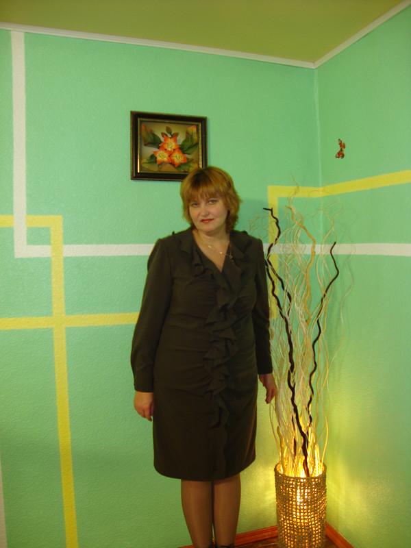 Чересчур воланистое платье от Любительница Burdы