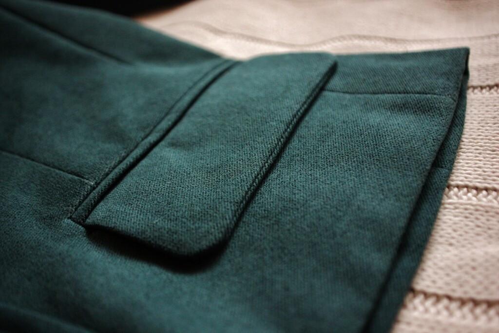 Зеленый жакет от ROOMNONO