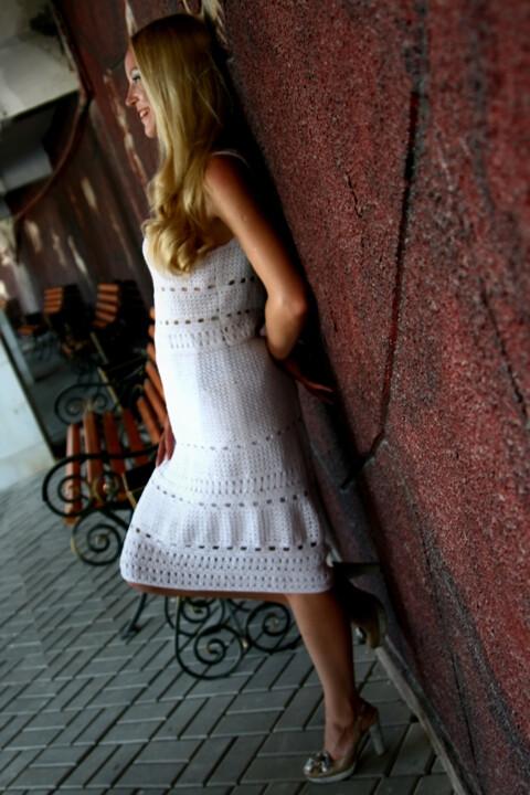 белое платье от Юлия
