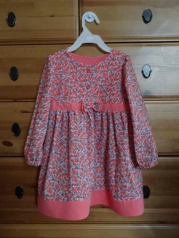 Нежное цветочное платье дляплемянницы! от irishka1979spb
