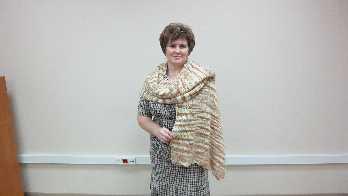 Шарфы ишали. от Uralochka