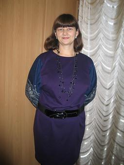 Работа с названием Любимое сентябрьское платье.