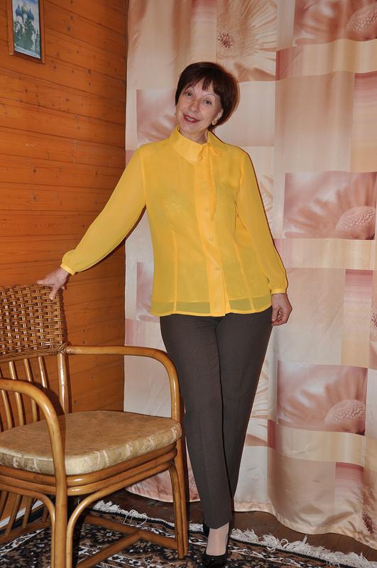 Шифоновая блузка от nushi