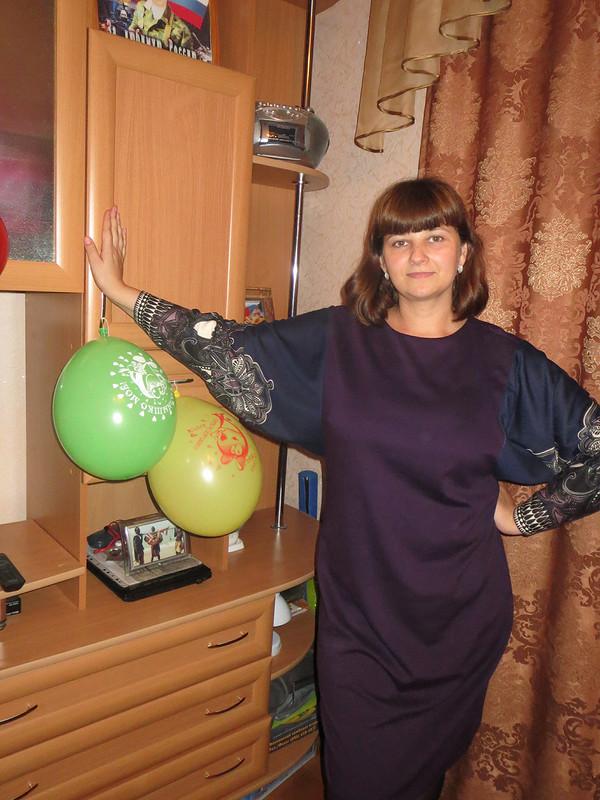 Любимое сентябрьское платье. от Татьяна32