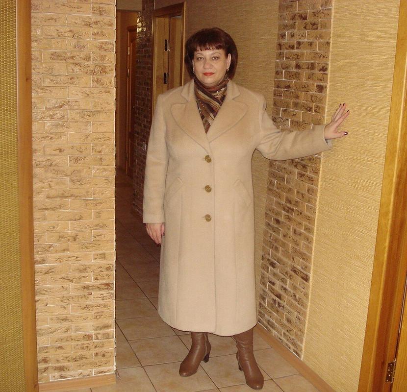 Бежевое пальто от Ольга N