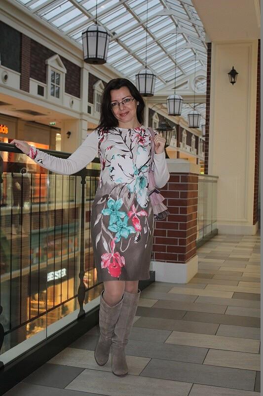 Платье ноября от AlevtinaZ