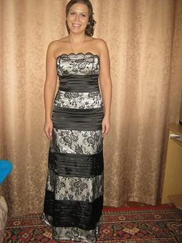 Работа с названием Концертное платье.