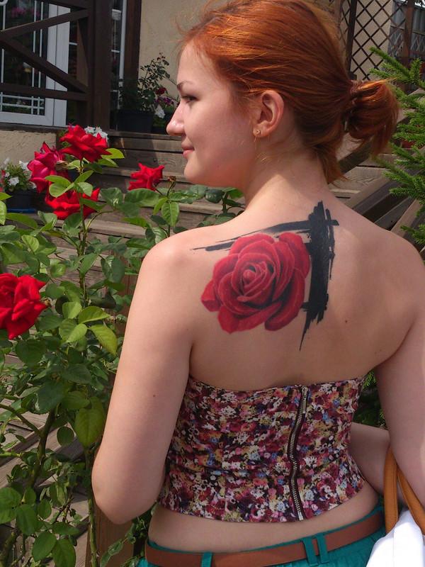 Цветочный корсаж от Alexandra_Efirkina
