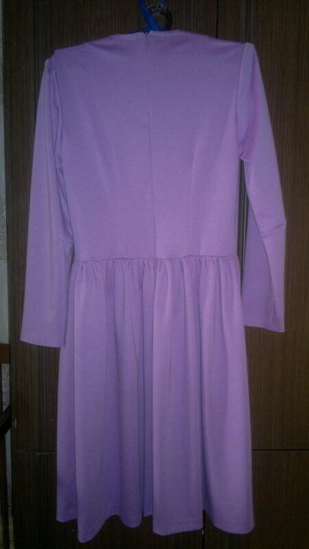 Лавандовое платье;)
