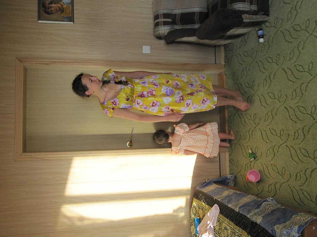 Шелковое платье длябеременных-кормящих