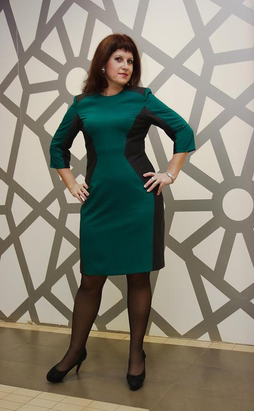 Платье встиле кубизма* от O_pera