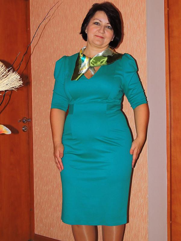Платье (первая работа) от Елена_71