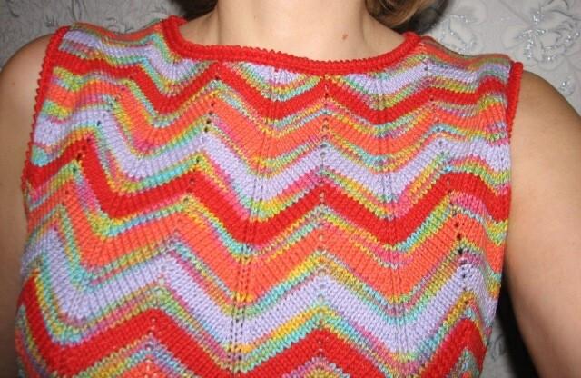 Переделка: вязаное - сшитое от Лидочка