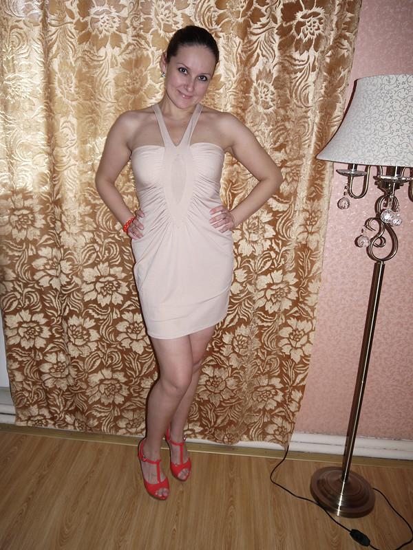 Маленькое золотое платье от oksana1981
