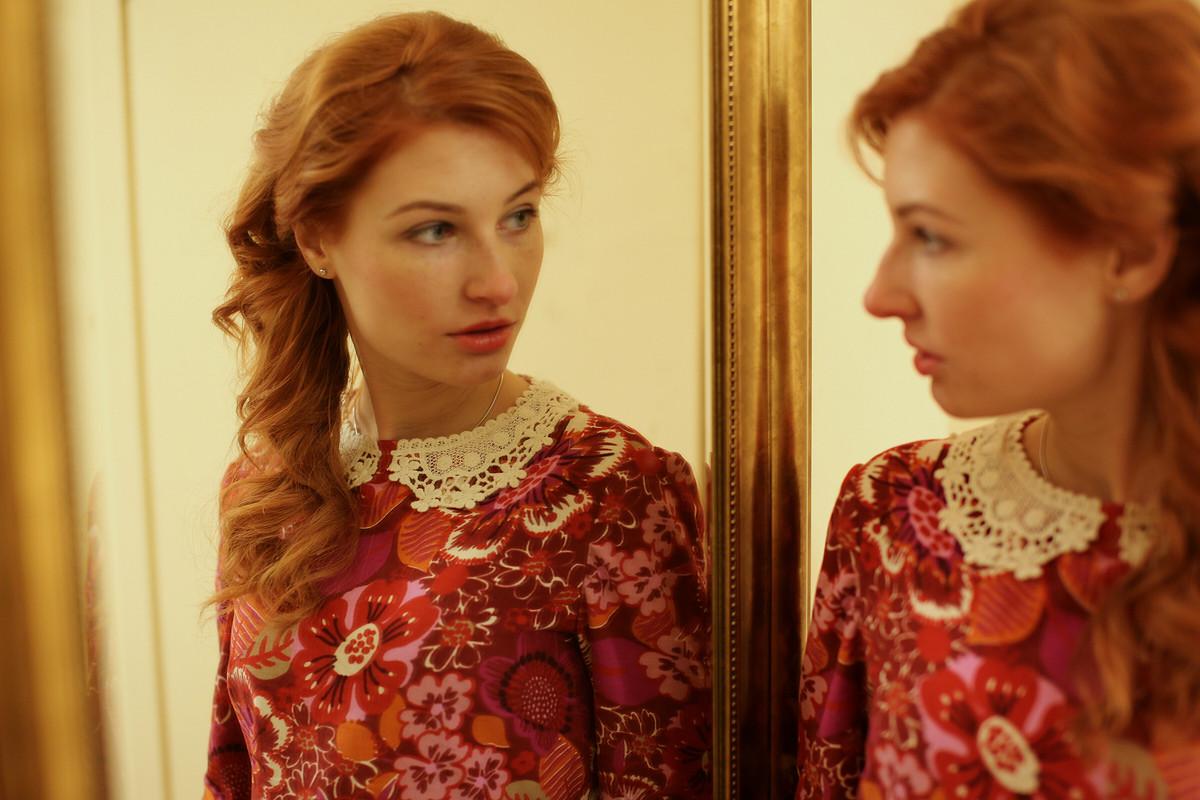 винтажное платье от Вера Волхонская