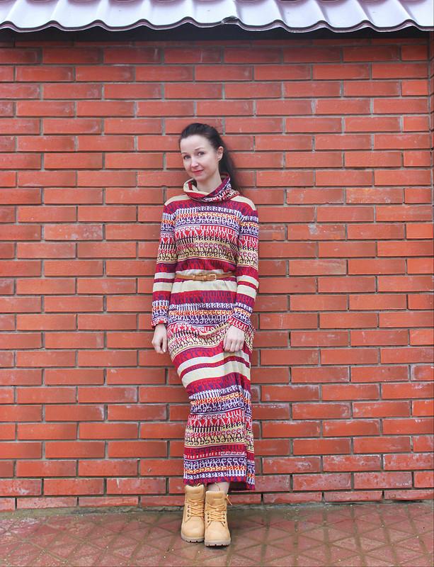 Платье-полосатик) от danin